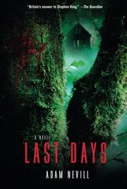 Cover art for LAST DAYS
