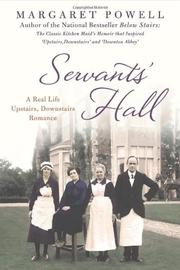 Book Cover for SERVANTS' HALL