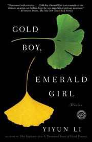 Book Cover for GOLD BOY, EMERALD GIRL