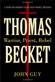 Cover art for THOMAS BECKET