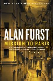 Cover art for MISSION TO PARIS