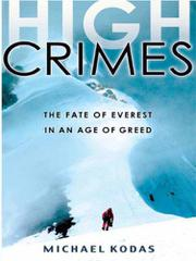 Cover art for HIGH CRIMES