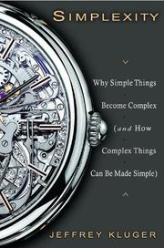 Book Cover for SIMPLEXITY