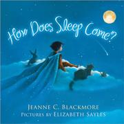 Book Cover for HOW DOES SLEEP COME?