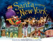 Cover art for SANTA IS COMING TO NEW YORK