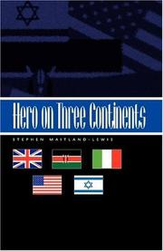 Cover art for HERO ON THREE CONTINENTS