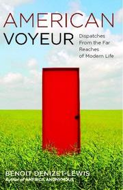 Book Cover for AMERICAN VOYEUR