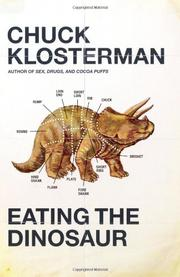 Cover art for EATING THE DINOSAUR