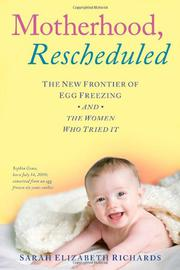 Book Cover for MOTHERHOOD, RESCHEDULED