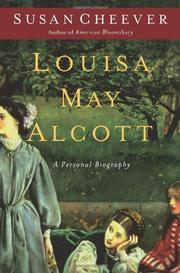 Book Cover for LOUISA MAY ALCOTT