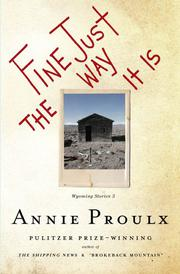 Book Cover for FINE JUST THE WAY IT IS