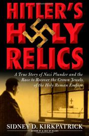 Cover art for HITLER'S HOLY RELICS