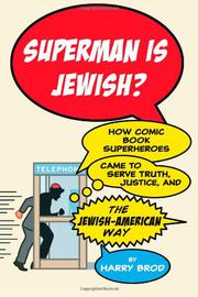 Book Cover for SUPERMAN IS JEWISH?