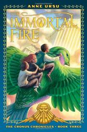 Cover art for THE IMMORTAL FIRE