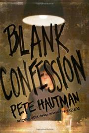 Book Cover for BLANK CONFESSION