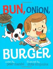 Book Cover for BUN, ONION, BURGER