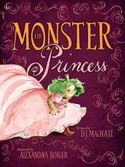 Cover art for THE MONSTER PRINCESS