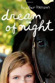 Cover art for DREAM OF NIGHT