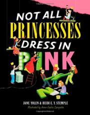 Book Cover for NOT ALL PRINCESSES DRESS IN PINK