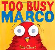 Cover art for TOO BUSY MARCO