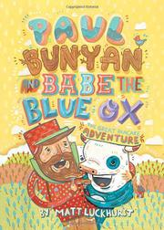 Cover art for PAUL BUNYAN AND BABE THE BLUE OX