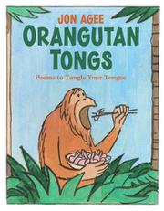 Cover art for ORANGUTAN TONGS