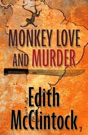 Cover art for MONKEY LOVE AND MURDER