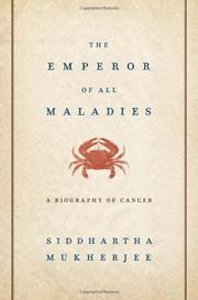 Cover art for THE EMPEROR OF ALL MALADIES