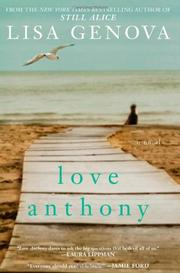 Cover art for LOVE ANTHONY