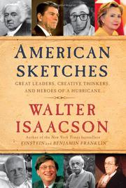 Book Cover for AMERICAN SKETCHES