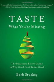 Book Cover for TASTE WHAT YOU'RE MISSING