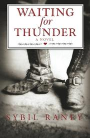 Book Cover for WAITING FOR THUNDER