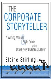Book Cover for THE CORPORATE STORYTELLER