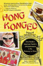 Book Cover for HONG KONGED
