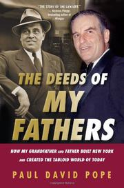 Book Cover for THE DEEDS OF MY FATHERS