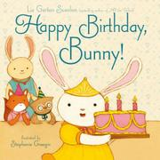 Cover art for HAPPY BIRTHDAY, BUNNY!