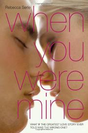 Book Cover for WHEN YOU WERE MINE