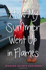 Cover art for HOW MY SUMMER WENT UP IN FLAMES