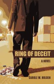 Book Cover for RING OF DECEIT