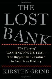 Cover art for THE LOST BANK