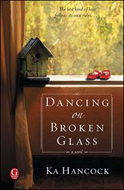 Cover art for DANCING ON BROKEN GLASS