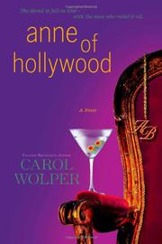 Book Cover for ANNE OF HOLLYWOOD
