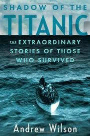 Cover art for SHADOW OF THE <i>TITANIC</i>