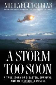 Book Cover for A STORM TOO SOON