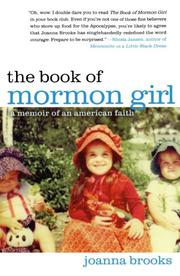 Book Cover for THE BOOK OF MORMON GIRL
