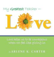 Book Cover for MY GREATEST TEACHER-LOVE