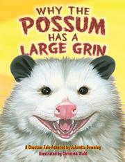 Book Cover for WHY THE POSSUM HAS A LARGE GRIN