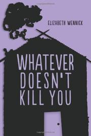 Cover art for WHATEVER DOESN'T KILL YOU