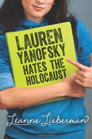 Book Cover for LAUREN YANOFSKY HATES THE HOLOCAUST