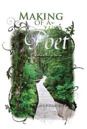 Book Cover for MAKING OF A POET